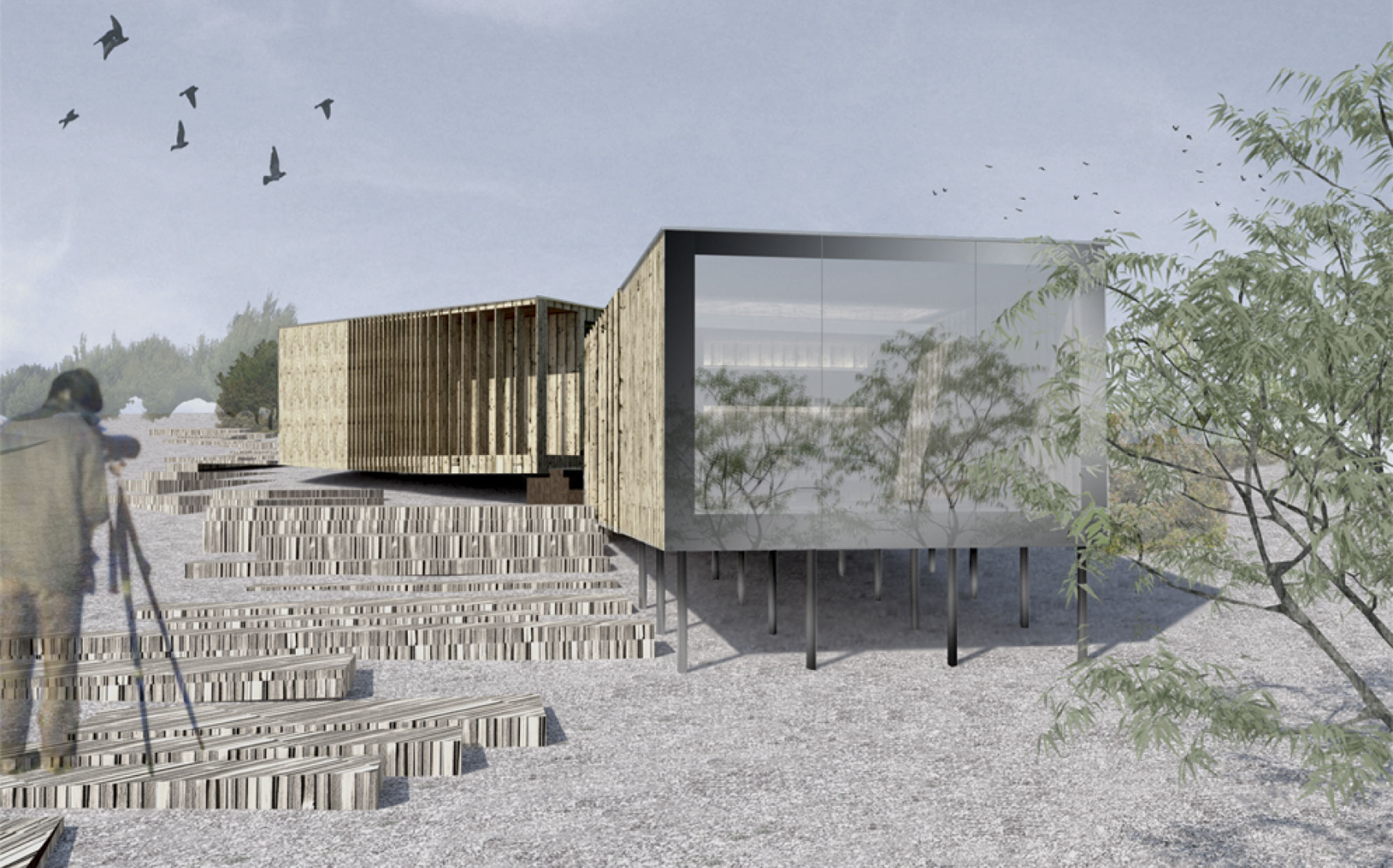Projecto de Arquitectura Observatório de Aves | Arquitectura, Arquitecto Lisboa, Projecto arquitectura Lisboa, Arquitecto Lisboa, Arquitecto, Gabinete de Arquitetura Lisboa