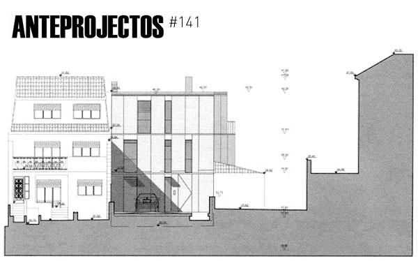 arquitectos Habitação Unifamiliar Parede