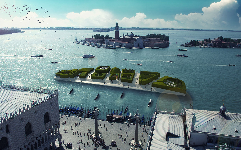 Archtriumph Biennale Pavillion in Venice