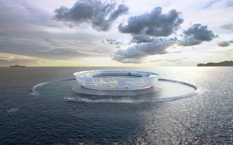 Projecto de Arquitectura Pacific Ocean Plataform Prison | Arquitectura, Arquitecto Lisboa, Projecto arquitectura Lisboa, Arquitecto Lisboa, Arquitecto, Gabinete de Arquitetura Lisboa