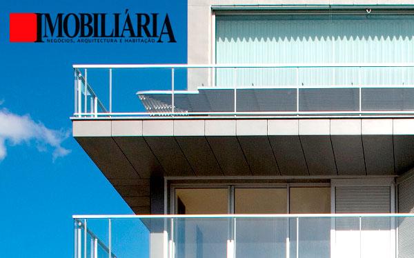"""Condomínio Habitacional """"Estoril 153"""" em destaque na imprensa portuguesa, na publicação Imobiliária – Negócios, Arquitectura e Habitação"""