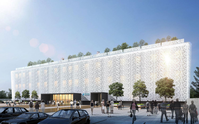Projecto de Arquitectura Novo Edifício SMAS Oeiras - Amadora | Arquitectura, Arquitecto Lisboa, Projecto arquitectura Lisboa, Arquitecto Lisboa, Arquitecto, Gabinete de Arquitetura Lisboa