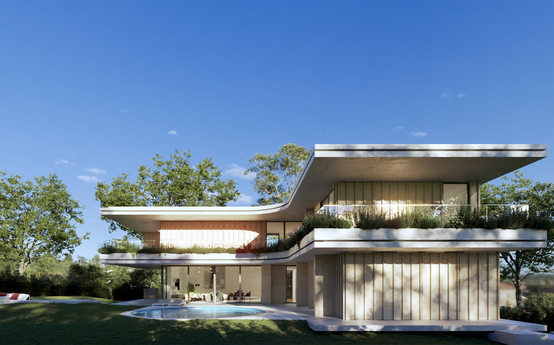 Moradia Unifamiliar Oeiras Golf Humberto Conde Arquitectos